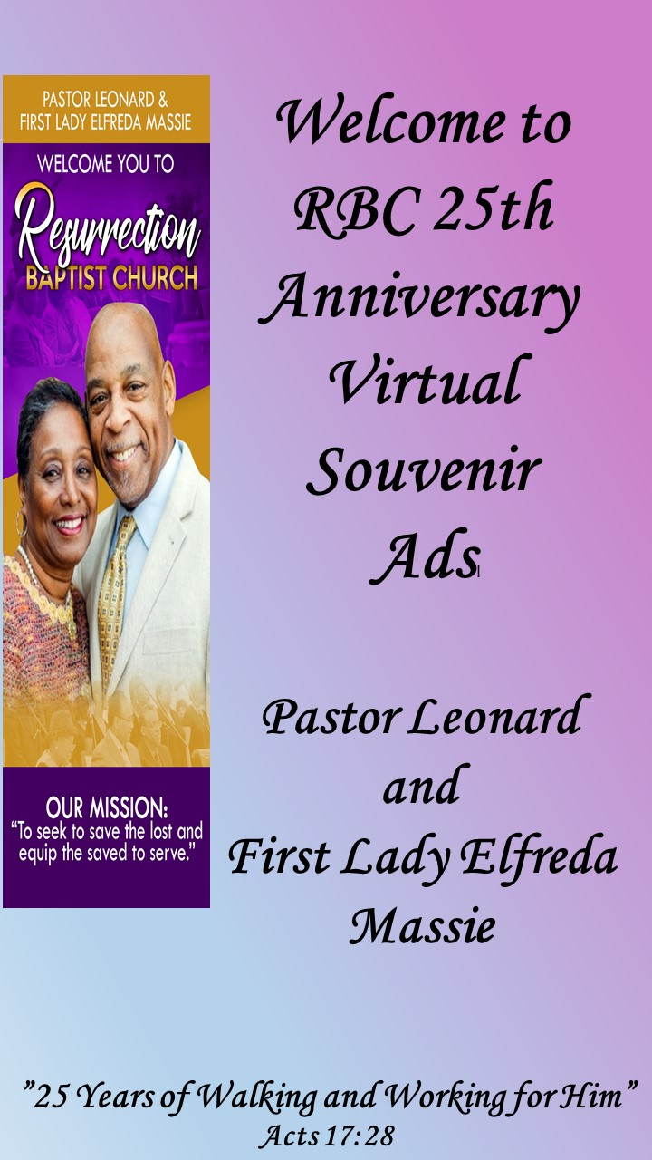 Pastor Leonard and First Lady Elfreda Massie