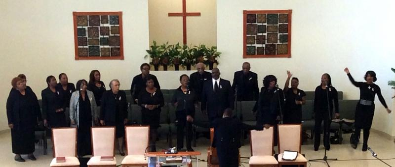 Sanctuary Choir Photo, October 5, 2014